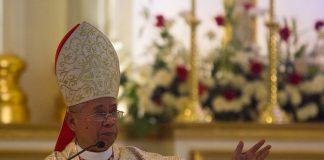 Orlando Cardinal Quevedo / Mindanews File Photo