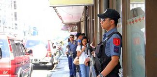 Police visibility. FILE PHOTO