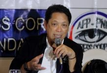 PAY HIKE ASSURED. Secretary Silvestre Bello III of the Department of Labor and Employment gives updates on the programs and efforts of the agency for the working class sector of the country including the planned P38 to P48 basic wage increase in the Davao Region. Bello was among the guests of yesterday's AFP-PNP Press Corps at The Royal Mandaya Hotel. LEAN DAVAL JR.