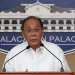 Presidential Spokesperson Ernesto Abella holds a press conference in Malacañan on December 21, 2016. ROBINSON NIÑAL/Presidential Photo