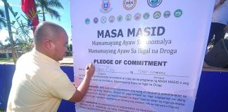 Part of the activities to the Comval Provincial Thanksgiving Day on December 8 at the capitol grounds is the launching of the MASA MASID or Mamayang Ayaw sa Anomalya at Ilegal na Droga led by Comval Gov. Tyron Uy, Philippine Army, PNP, DILG, and other key officials. (a. dayao/ids comval)