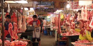 BACK TO SQUARE ONE. Meat vendors at Agdao Public Market are experiencing quiet days anew as business became slow after the Christmas holidays. LEAN DAVAL JR.