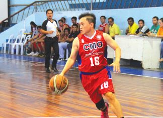 HOT HANDS. Sec. Bong Go, shown here in file photo, fired 48 points to lead Team Duterte.