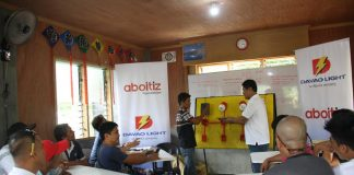 TRAINING. Davao Light and Power Company's Project B.E.S.T or Basic Electrician Skills Training started another batch last February 6, 2017 for the residents of Barangay Maa, Davao City. Twent-five identified beneficiaries will undergo a three-week training to become certified electricians with a National Certificate II. Project B.E.S.T. is implemented by Davao Light in partnership with the Aboitiz Foundation & TESDA Region XI. (DLPC Photo)