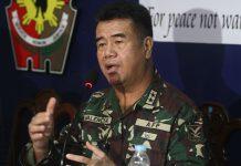 Maj. General Rafael Valencia. Contributed Photo