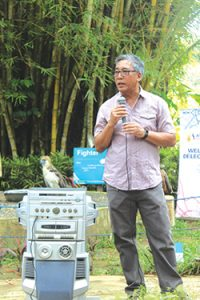 Philippine Eagle Foundation (PEF) Executive Director Dennis Salvador