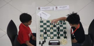 CHESSKWELAHAN. Participants in action during the DavNor Chesskwelahan.