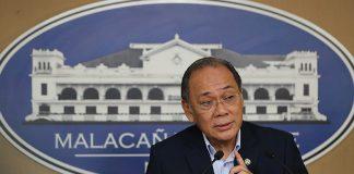 Presidential Spokesperson Ernesto Abella