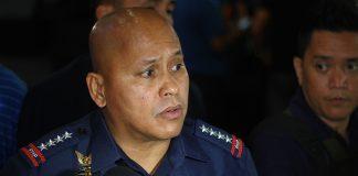 "Philippine National Police chief Director General Ronald ""Bato"" Dela Rosa."