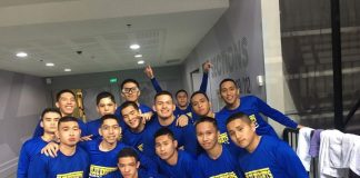 PROUD KNIGHTS. The Ateneo de Davao University Blue Knights reached the semifinals on thier first stint in the SM NBTC National Finals.