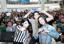 Enkantadiks rejoiced when Encantadia stars Ruru Madrid, Sanya Lopez, and Glaiza de Castro went to SM City Davao for their Kapuso Mall Show