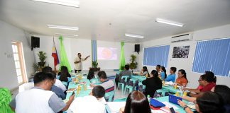 FLAGSHIP PROJECT. Sarangani province Schools Division Superintendent Isagani dela Cruz presents to the province's education stakeholders on Thursday the division's flagship program dubbed as Project CHILD or Communities and Homes Inspiring Innovative Leadership and Learning Designs. The project is expected to bring together families, policy makers, schools and students toward a shared goal of increasing effective learning and teaching. (Jake T. Narte/SARANGANI INFORMATION OFFICE)