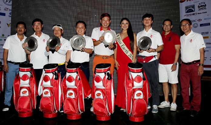 TEAM CHAMPION. The DKGA 1 team composed of Korean golfers won the team title.