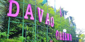 The iconic Davao Oriental Welcome Park. Always a good time to take a photo, have a snack or freshen up after a long drive. Photo by Christine Joice Cudis.