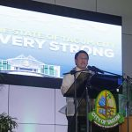 VERY STRONG. Mayor Allan Rellon delivered his third SOTCA - State of the City Address last March 07, 2017, underscoring the many accomplishments achieved by his administration that contributed to putting Tagum City in a very strong state. Leo Timogan/CIO Tagum