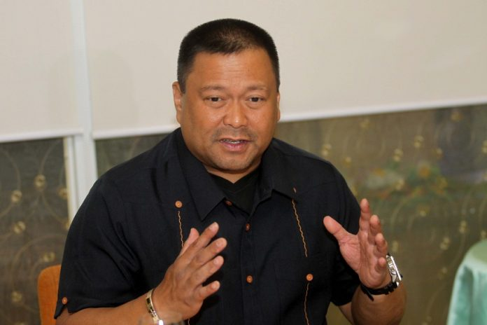JV's TAKE. Senator JV Ejercito gives his thoughts about the impeachment complaint filed against President Duterte during a news conference at The Royal Mandaya Hotel on Friday evening. LEAN DAVAL JR.