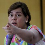 FOLLOW THE RULES. Davao City Mayor Sara Duterte-Carpio appeals to party organizers, bar and club operators to obey the city's Anti-smoking Ordinance and liquor ban during an information drive held at Grand Men Seng Hotel on Tuesday. LEAN DAVAL JR.
