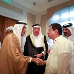 President Rodrigo Roa Duterte meets with Qatari businessmen during the Philippines-Qatar Business Forum on April 15, 2017 at the Four Seasons Hotel in Doha, Qatar. TOTO LOZANO/Presidential Photo