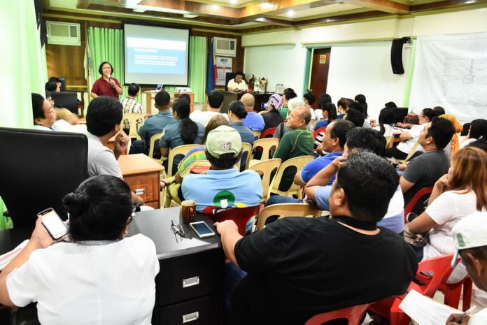 ANTI-DRUG ABUSE SYMPOSIUM. The Department of Health recently hosted a symposium on the municipal anti-drug abuse campaign in Kiamba town, Sarangani province. Mayor Raul C. Martinez addressed the participants from different LGU agencies, police, barangay captains and municipal councilors. DOH Region 12 non-communicable disease cluster head Dr. Adimelca Gangoso also provided an input on the drug abuse situation in the country and urged the participants to cooperate with the government agencies and the community to help treat and rehabilitate drug users who surrendered and make this nationwide effort a success. (AR Camposano-JP Belmonte/KIAMBA INFORMATION OFFICE)