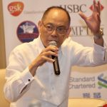 WITHIN SIGHT. Department of Budget and Management secretary Benjamin Diokno reveals the government is eyeing to construct the Davao-Island Garden City of Samal (IGaCoS) bridge before the yearend during the Mindanao Trade and Investment Forum held at Marco Polo Davao on Friday. The high-level gathering was attended by British company executives led by Ambassador to the Philippines Asif Ahmad. LEAN DAVAL JR,