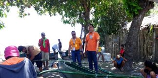 LIVELIHOOD SUPPORT. The Department of Social Welfare and Development in Davao region turned over 21 fishing boats and fishing accessories to seven coastal barangays in San Isidro, Davao Oriental through the Sustainable Livelihood Program. Held on April 18, the event was led by Regional Director Mercedita P. Jabagat and Mayor Justina MB. Yu. (DSWD)