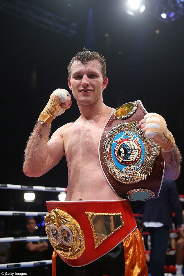 BRISBANE BOMBER. Jeff Horn has what it takes to pull an upset.