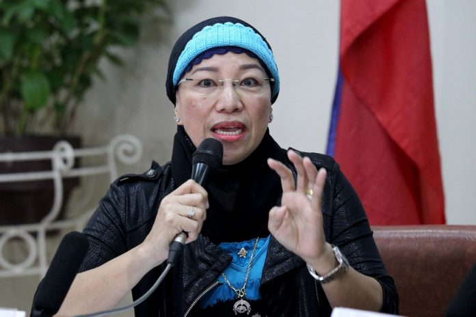 HALAL COMMITTEE. Philippines Tourism Congress chair and Universal Islamic Center president Marilou Ampuan says the creation of a Davao City Halal Industry Development Council by Mayor Sara Duterte-Carpio is a welcome development as it will ensure the marketability of halal-certified products in the domestic markets and in the countries in the Association of southeast Asian Nation (ASEAN). Ampuan graced I-Speak media forum at City Hall on Thursday. LEAN DAVAL JR.