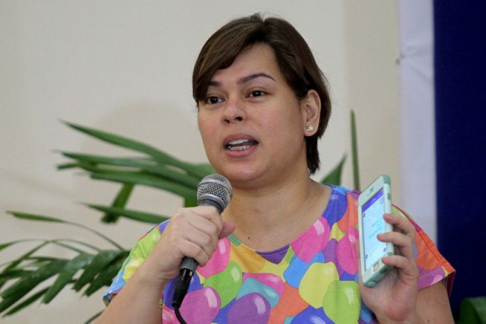 ON HOLD. Davao City Mayor Sara Duterte-Carpio says in a statement she is putting on hold her agreement with the New People's Army (NPA) to have a localized peace talks in Davao City to give way to the bilateral ceasefire being pursued by the peace panel of the government and the National Democratic Front of the Philippines. LEAN DAVAL JR.