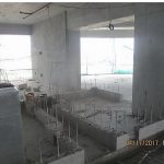 CONSTRUCTION FULL SWING. The ongoing construction works of the interior structures of Aeon Towers.