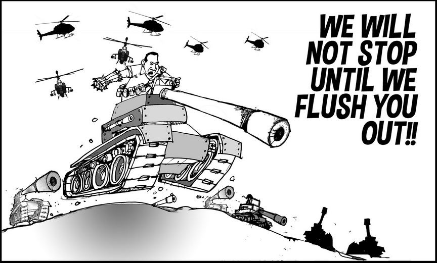 Editorial Cartoon Martial Law In Mindanao Edge Davao