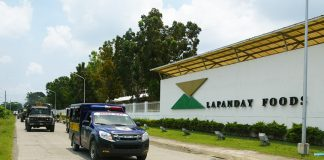 Lapanday box plant in Mandug, Davao City. KB / File