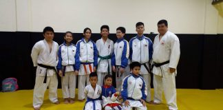 AAK DAVAO. The AAK Davao squad with head coach Rommel Tan (extreme right, second row).