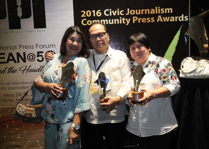 3 OF 5. For the second time, EDGE DAVAO became the winningest community daily in PPI Civic Journalism Community Press Awards when it won three of the five categories during the 21st National Press Forum on ASEAN @ 50 Beyond the Headlines, May 24-26 at H2O Hotel on Thursday. EDGE DAVAO won Best in Photojournalism, Best in Environmental Reporting and Best Edited Community Newspaper.