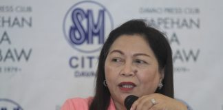 NEW VENTURE. Department of Social Welfare and Development (DSWD) 11 director Mercedita P. Jabagat discusses the agency's upcoming short film making contest during the Kapehan sa Dabaw at the Annex of SM City Davao on Monday. LEAN DAVAL JR.