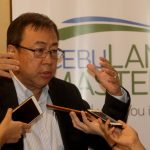BIG PLAYER. Cebu Landmasters, Inc. chairman and chief executive officer Jose Soberano III provides the details of the company's upcoming Initial Public Offering during Friday's Investor Roadshow held at The Marco Polo Davao. LEAN DAVAL JR.