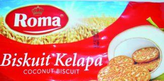 Biskuit Kelapa or Coconut Biscuit