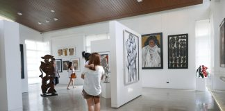 The BenCab gallery displays the artists own works