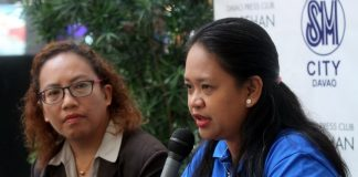 UNDERSCORING. Redcop Region 11 spokesperson Dr. Maria Teresa Bad-ang discusses ways to prevent kidney diseases while promoting National Kidney Month 2017 with Philippine Society of Nephrologists – Mindanao chapter president Dr. Jannette Ybiernas during Kapehan sa Dabaw at the Annex of SM City Davao. The month-long celebration aims to spread awareness to reduce impact and frequency of kidney disease and its associated complications. LEAN DAVAL JR.