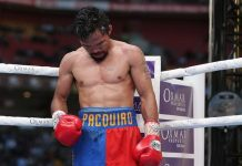 TIME TO RETIRE. For boxing expert Kevin Iole of Yahoo Sports, it is time for Manny Pacquiao to retire.