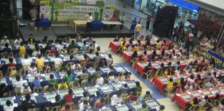 CHESS AT NCCC MALL. File photo shows the National Age Group Chess ttournament at Davao's chess hub NCCC Mall