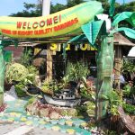 Sheltering various commodities and local product displays are the winning booths of Tagum City and the Municipality of Sto. Tomas.