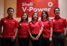 NEW PRODUCTS.Shell Philippines unveils its brand new formulations for premium Shell V-Power fuels to meet every Filipino driver's constantly evolving needs. Present during the unveiling on Wednesday at The Marco Polo Davao were (from left to right) retail territory manager Jerome David, fuels brand manager Marcia Angela Abas, fuels scientist Mae Ascan, brands and communications manager CherineCapadocia, and Mindanao District manager Arvin Obmerga. LEAN DAVAL JR.