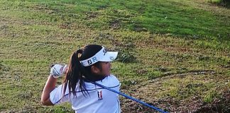 MAKING WAVES. Alessandra Christine Nagayo has been picked to represent Victoria in Australia's 15 and under Championship in November in Sydney