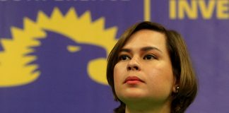 """NOT LETTING IT PASS. Davao City Mayor Sara Duterte-Carpio demands an apology from Mega Harbour Port and Development Corporation for calling her """"reckless, callous, and unethical individual"""" over the termination of the Joint Venture Agreement of the P39 billion mixed-use coastline development project in Davao. LEAN DAVAL JR."""