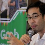 UPBEAT. Grab Philippines country manager Brian Cu provides details on company's upcoming projects in Davao City. Cu also gave his take on the issues involving the company during a news conference on Friday afternoon. LEAN DAVAL JR.