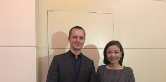Dr. Tippy Tanchanco and Mr Tore Andersen