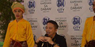 "Kadayawan Festival Director Renato ""Gatchi"" Gatchalian described the San Pedro Square during Kapehan sa Dabaw last August 14. ANGIE SAVERON"