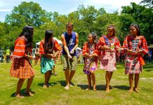 GRAND WINNER. Kulas, a photo showing a white man being taught an Indigenous People's traditional dance by William Lee Chin, is the grand winner of this year's Hulagway sa Kadayawan photo contest. CIO