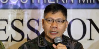 GOOD NEWS. Davao del Norte provincial director Sr. Supt Marcial Mariano Magistrado says the crime volume in the province is down by 12% which can be attributed to the good inter-operability, good coordination with counter parts and the responsive and right intervention being implemented by law enforcement personnel. Magistrado bared the details during AFP-PNP Press Corps media forum at The Royal Mandaya Hotel on Wednesday. LEAN DAVAL JR.