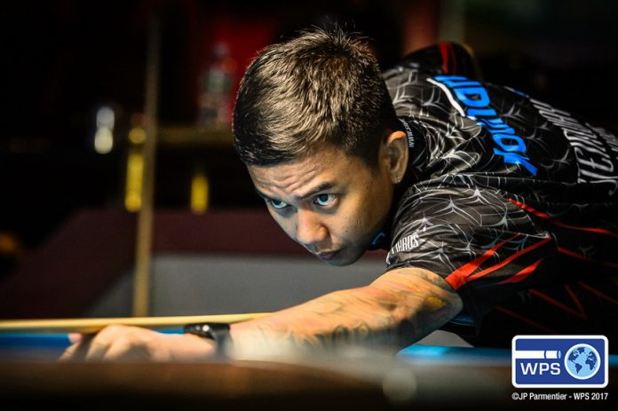 ANOTHER WORLD TITLE. Davao's Lee Van Corteza (in file photo) won the World Straight Pool title in New York on Sunday